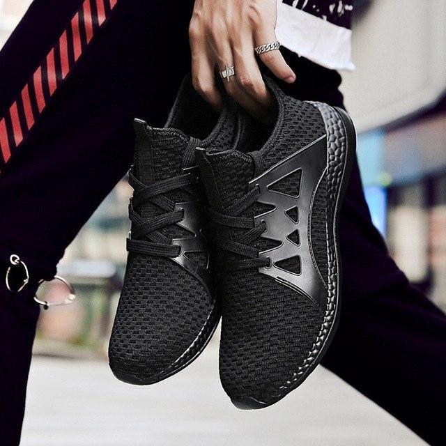 Size Mens Running Shoes Grey Krassovki