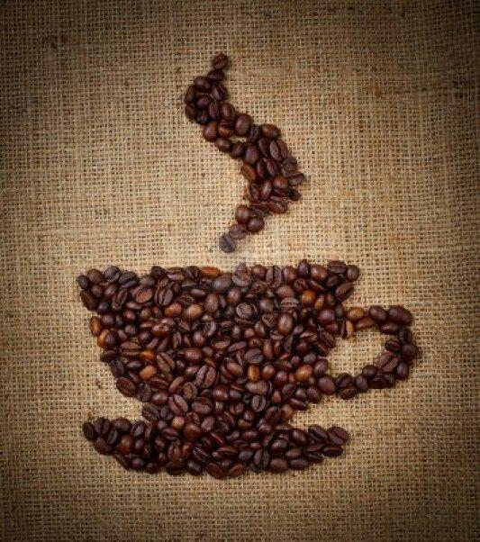 coffee beans make the world go round