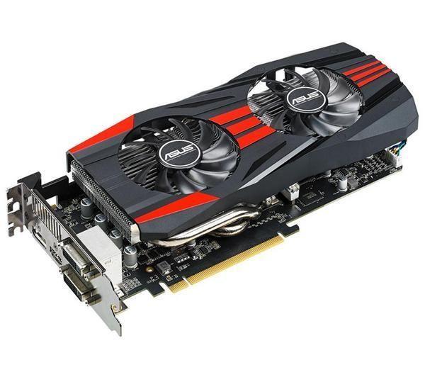ASUS R9270X-DC2T-2GD5 - 2 GB GDDR5 - PCI-Express - Scheda grafica + Adattatore D