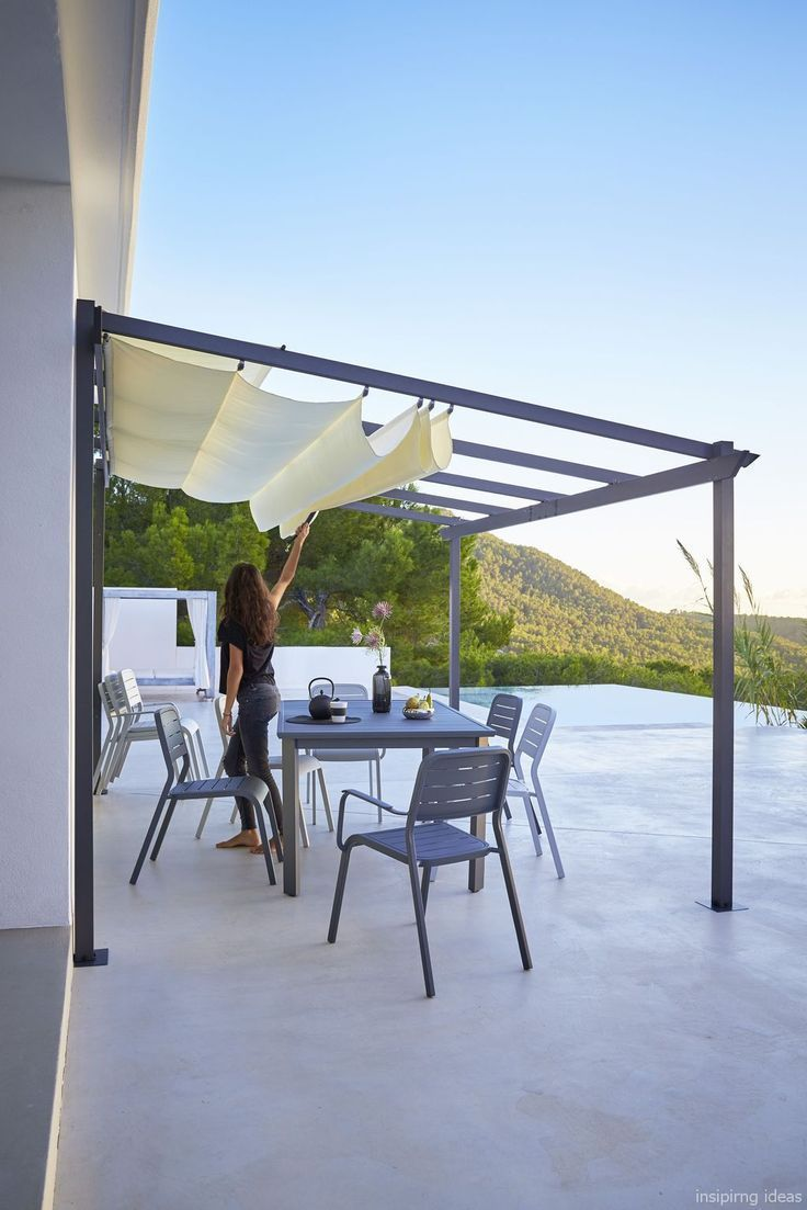 Affordable Covered Pergola Design Ideas 32