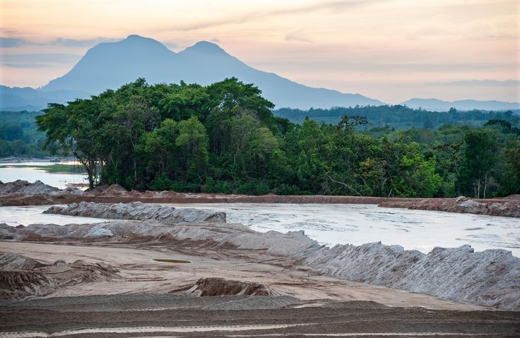 Tin mining on Bangka island of Indonesia – in pictures