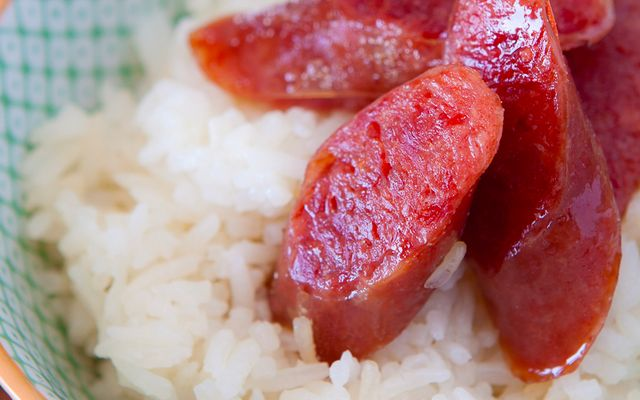 How to Cook Chinese Sausage. Yummy, Chinese sausage.