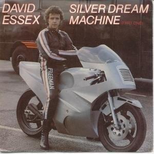 "SILVER DREAM MACHINE 7 INCH (7"" VINYL 45) UK MERCURY 1980 ~ DAVID ESSEX, http://www.amazon.co.uk/dp/B0055SJ49A/ref=cm_sw_r_pi_dp_IA9erb05YZX9Q"