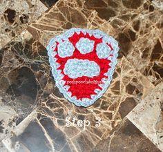 Paw Patrol Badge | Free Pattern