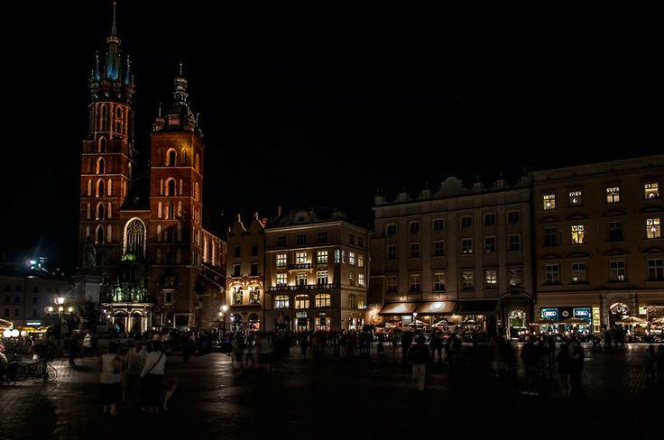 Poland, Krakow - old town /  Polska, Kraków - rynek