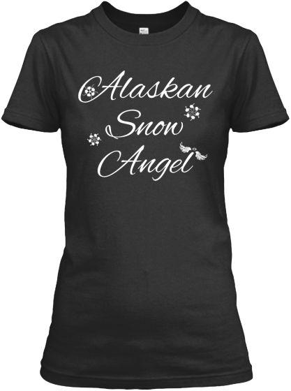 Alaskan Snow Angel Shirts and Hoodies