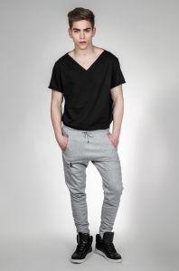 spodnie HARD szare