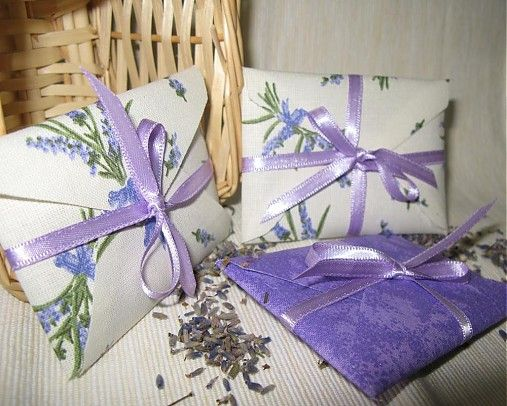 Lavender envelopes