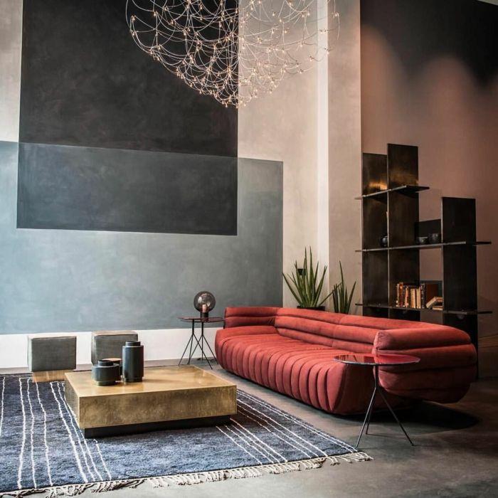 1001 Ideen Zum Thema Welche Farbe Passt Zu Rot Modern Sofa Designs Contemporary Home Decor Decor Interior Design