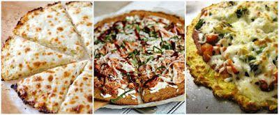 Mis Recetas Fitness: Pizza fitness con base de Coliflor