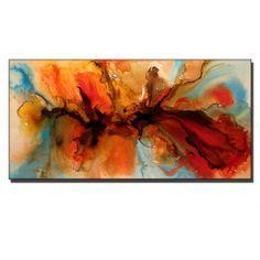 Abstracto pintura - ORIGINAL contemporáneo moderno arte, arte colorido de la lona  X 24 DE TAMAÑO: 48 X 1,58   (ACABADO DE ALTO BRILLO)  TÍTULO: SONIDO DEL SILENCIO  Hecho a la medida de mi pintura previamente vendido. Te pinto tu pintura a mano y relleno sea muy similar a mi pintura se muestra arriba. Cualquier duda no dude en escribirme.  Esta pintura moderna abstracta contemporánea fue pintada sobre lienzo libre ácido Galería envuelta. Se han utilizado sólo los materiales de arte fino de…