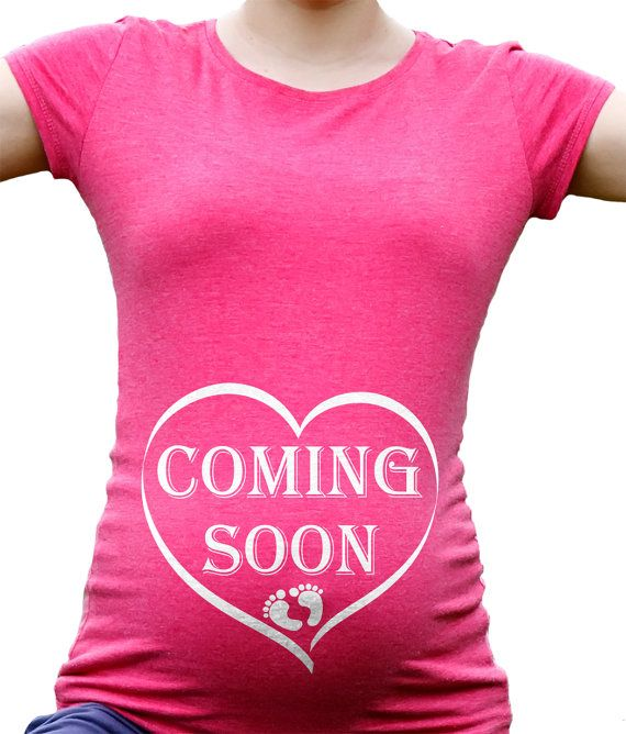 Coming Soon Pregnancy Tee Shirt Baby Announcement Birth Announcement Maternity Tee on Etsy, $28.99