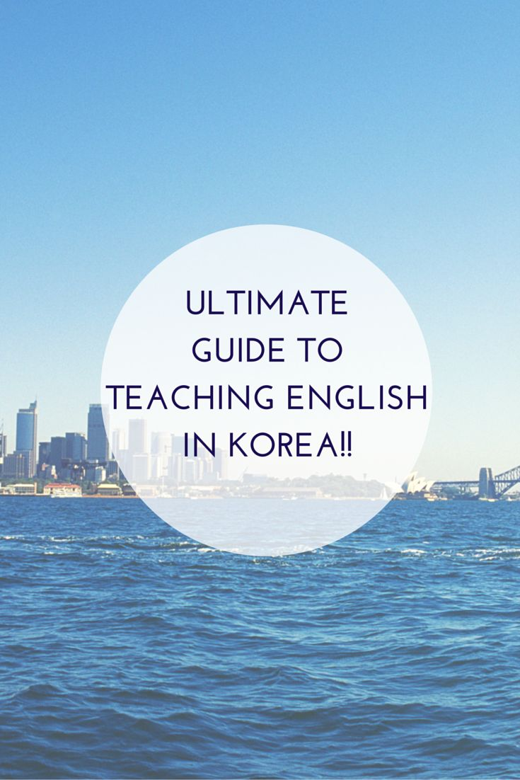 Do you want to teach in Korea? I just finished 18 months teaching and it was the BEST experience of my life! I wrote this guide to answer all of your questions :)