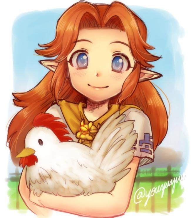 Rancher Malon from Zelda, Ocarina of Time