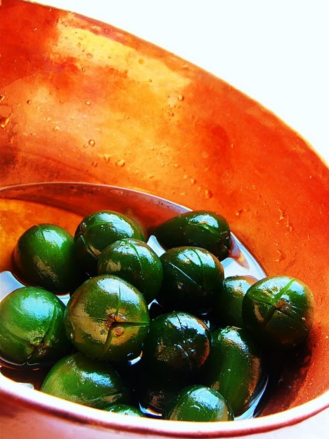Green Fig Compote
