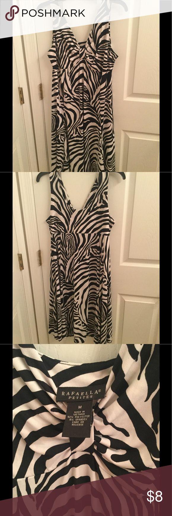 Rafaella Petites dress Used Black and white dress Rafaella Dresses Midi