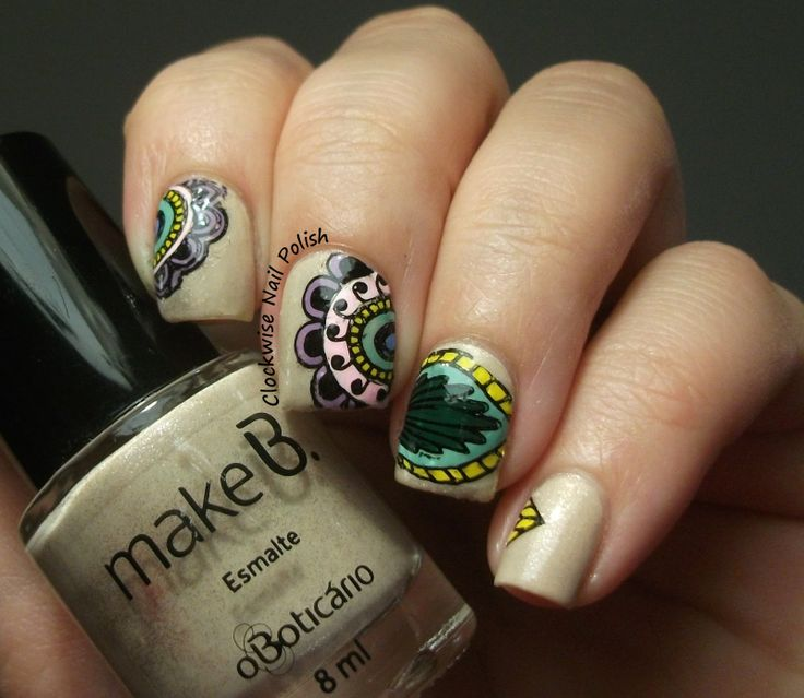 80 Best Infinity Nails Stamping Images On Pinterest