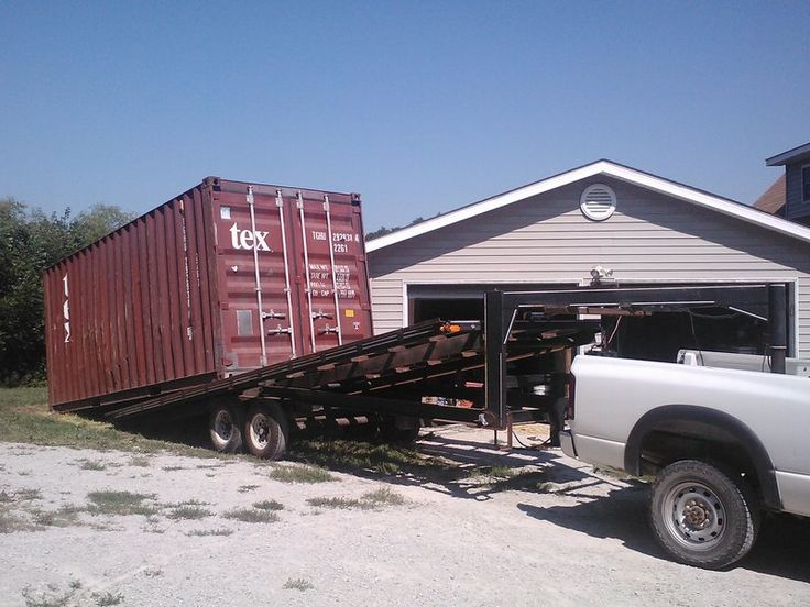 Shipping Container Unloading Requirements   Country Conex Box
