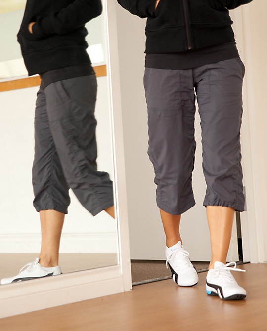 Lululemon Studio Crops would be cute for zumba!