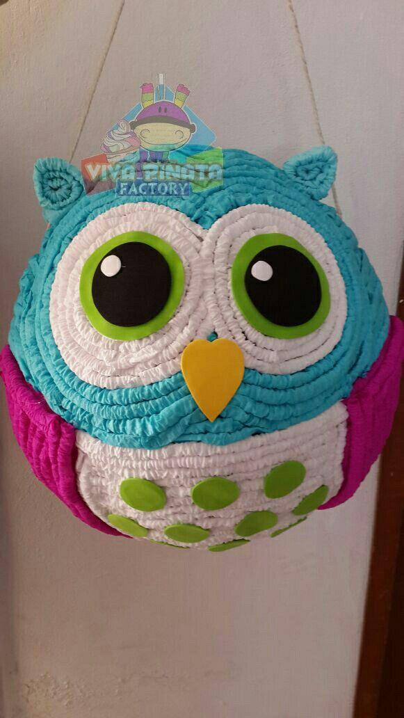 Piñata Búho... recuerden nuestra promoción de Piñata más palo piñatero más kilo y medio de dulces por  $550