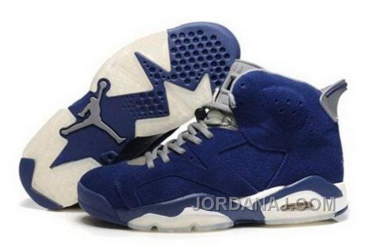 http://www.jordanaj.com/canada-sale-to-buy-online-air-jordan-6-mens-shoes-anti-fur-blue-white.html CANADA SALE TO BUY ONLINE AIR JORDAN 6 MENS SHOES ANTI FUR BLUE WHITE Only $96.00 , Free Shipping!