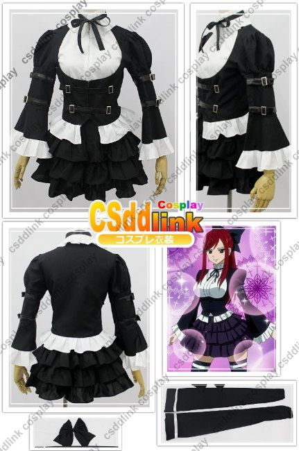 Hey, I found this really awesome Etsy listing at https://www.etsy.com/listing/121293999/fairy-tail-erza-scarlet-cosplay-costume
