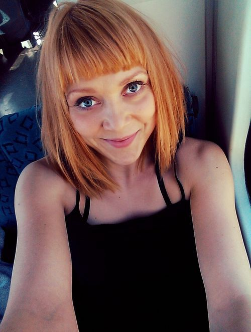 Ramona Dempsey hat eine neue Frisur