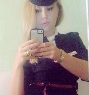 Flight attendant  Me