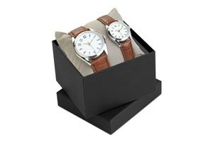 Set reloj para hombre y mujer TIME FOR TWO