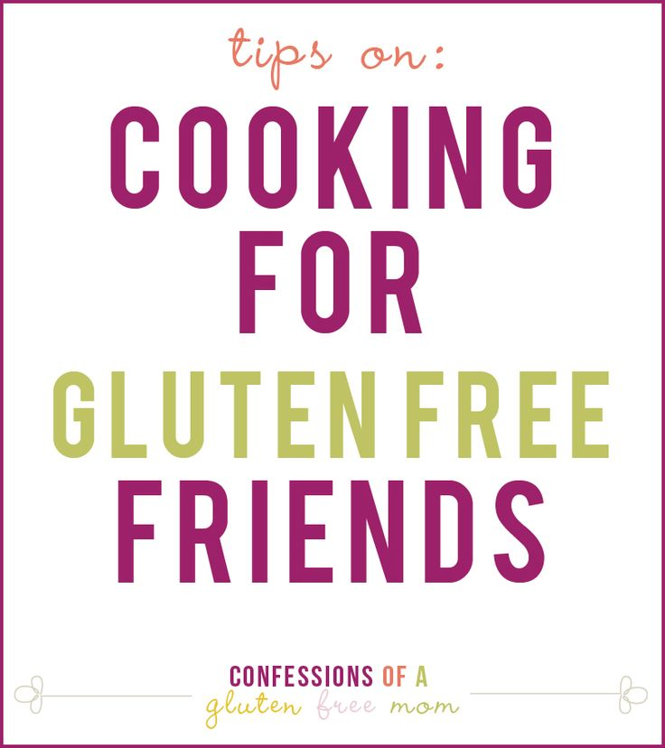 Cooking for Gluten Free Friends - This would have totally come in handy when my friend came to visit and I was re-evaluating my meal plans on the fly!: Free Friends, Gluten Free Foods, Friends Recipes Gluten Fre, Cooking Gluten, Friends Gluten Free Good, My Friends, Gluten Free Cooking, Glutenfree, Meals Plans
