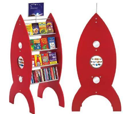 Rocket Pod book shelf