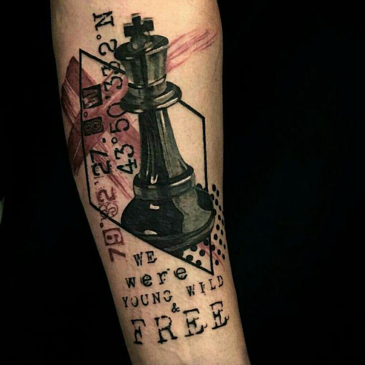 17 melhores ideias sobre Chess Piece Tattoo no Pinterest ...