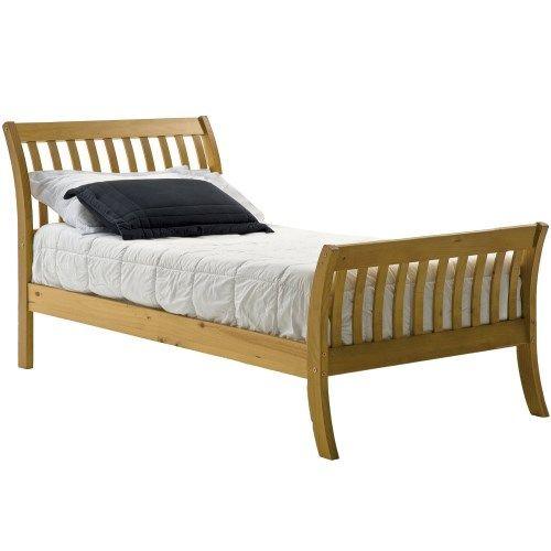 Verona Design Parma Small Single Bed Frame in Antique Pine