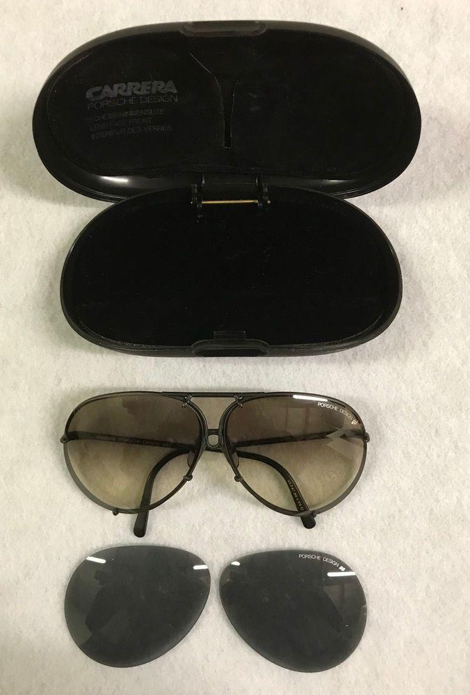 96b4390e7fd0 Carrera Aviator Sunglasses Porsche Design 5621 90 w Hardshell Case Extra  Lenses  fashion  clothing  shoes  accessories  vintage  vintageaccessories  (ebay ...
