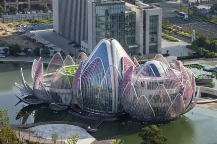 The locus building located in Wujin, China. Completion date 2013, Architects of studio505