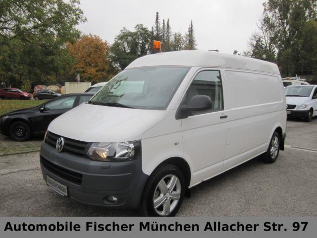 VW T5 Transporter MHD lang 4M ATM 60 Km, Transporter Kastenwagen Hochdach in München, gebraucht kaufen bei AutoScout24 Trucks