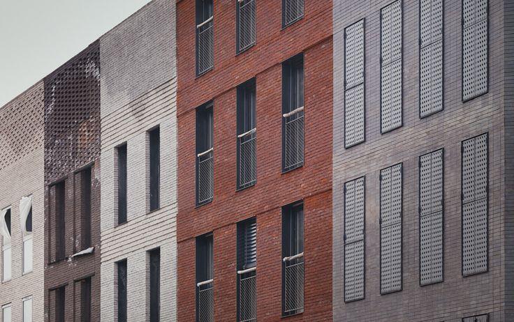 LAN Architecture - 117 Housing Units, Mouvaux, France