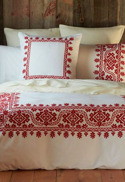 1000 images about texturas mexicanas on pinterest Mexican embroidered bedding