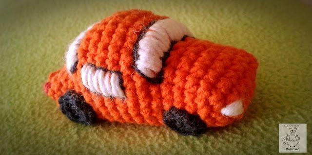 Samochodzik szydełkowy - Ofuniowo