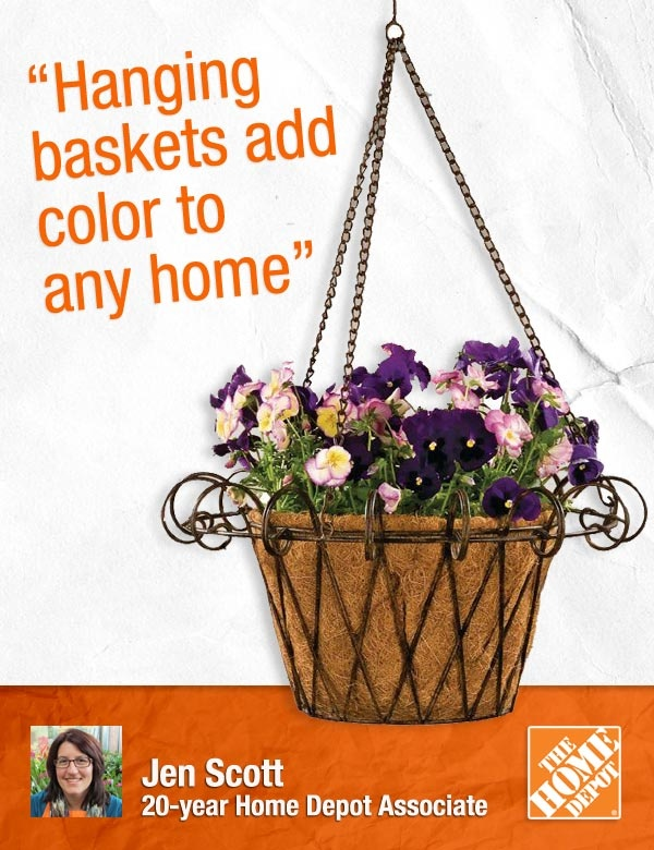 Hanging Baskets make the perfect gift, for Mother's Day ...
