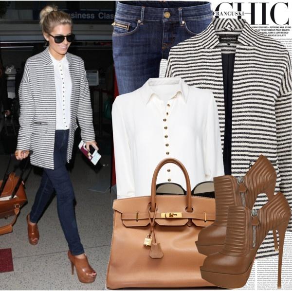 """717. Celebrity Style: Mollie King"" by chocolatepumma ❤ liked on Polyvore"