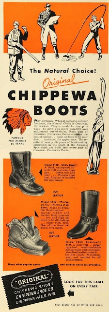 Chippewa Boots - Made in the U.S.A.