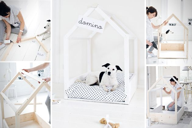 "Pet's ""residence"" is one part of your interior design and plan. If you're looking for a pet bed that's just as unique as your furry friend, these 20+ pet b"