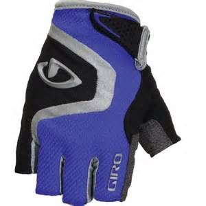 Giro Bravo Cycling Gloves Blue/Black