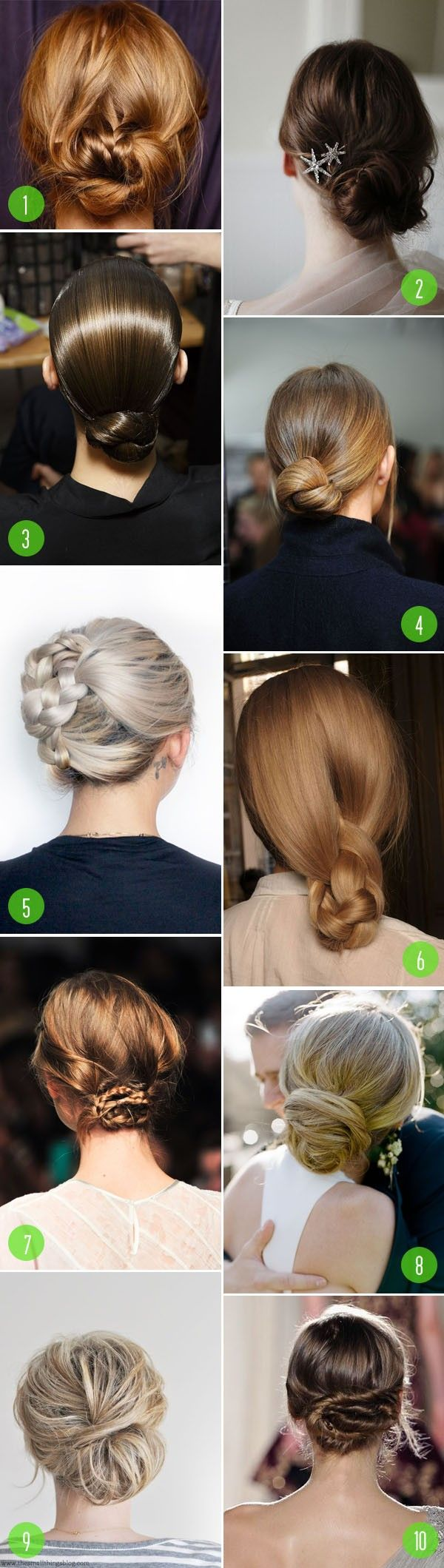 10 Pulled back hairstyles to consider. These are softer and chic alternatives for updos.
