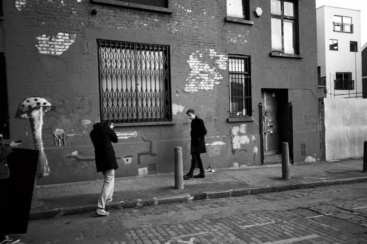 SHOOTING ON THE STREETS OF E1.  Behind the scenes on our January lookbook shoot.