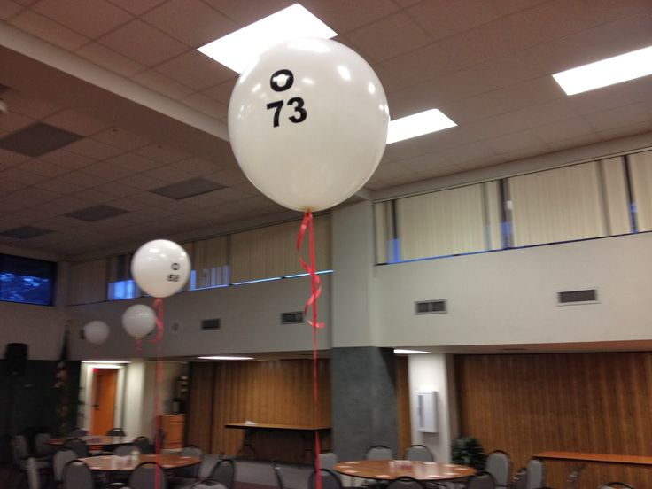 Party People Celebration Company - Custom Balloon decor and Fabric Designs: Bingo night at Florida Southern college