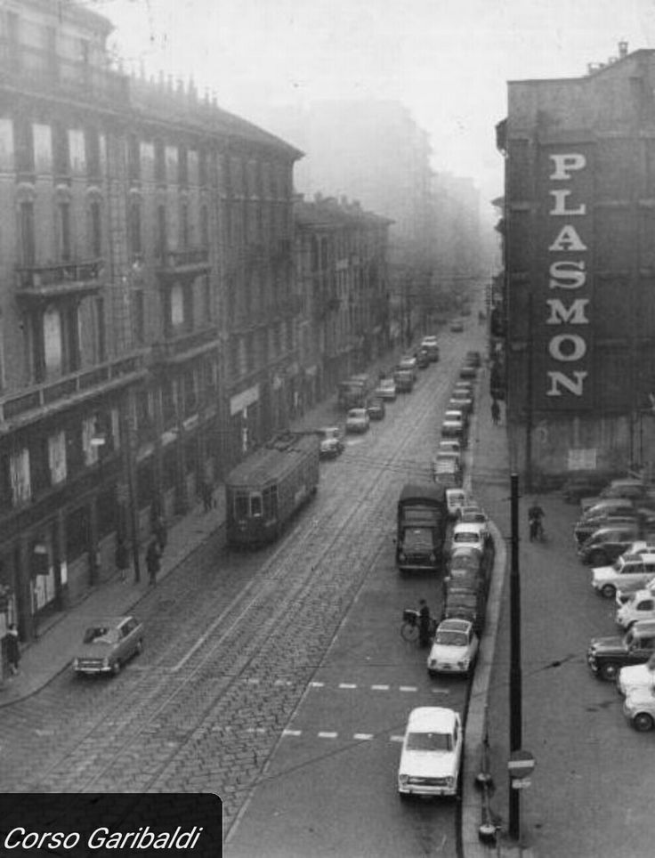 Corso Garibaldi Milano 1967