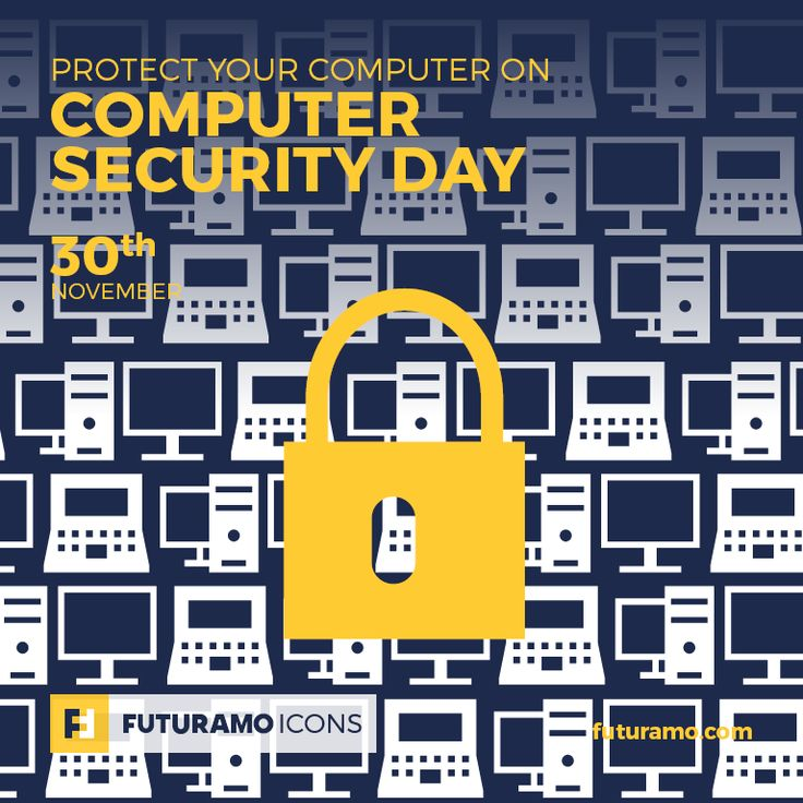 Protect your computer on Computer Security Day! All #icons used in the series are available in our App. Imagine what YOU could create with them! Check out our FUTURAMO ICONS – a perfect tool for designers & developers on futuramo.com #icondesign  #icons  #iconsystem  #pixel #pixelperfect  #flatdesign  #ux  #ui  #uidesign  #design #developer  #webdesign  #app  #appdesign #graphicdesign