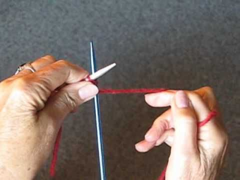 This woman makes it so easy to learn how to knit.